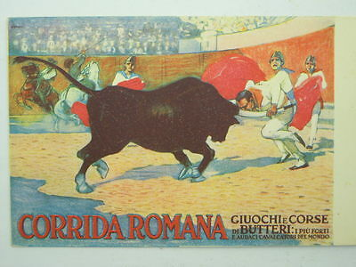 Sport-Corrida-Advertising-Genoa 1913-Artist Signed-Oi8-S61191