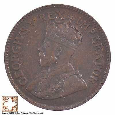 1928 South Africa 1/4 Penny King George V *5182