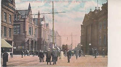 Halifax. Commercial Street. Old postcard in fair condition. Unused