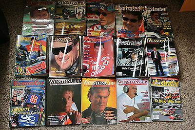 15 Issues Winston Cup Illustrated, NASCAR Illustrated   1991-2003