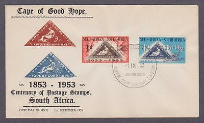 South Africa # 193 - 194 , Stamp Centenary FDC - I Combine S/H