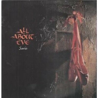 """ALL ABOUT EVE Scarlet 12"""" VINYL UK Mercury 1990 4 Track B/W Candytree Live"""