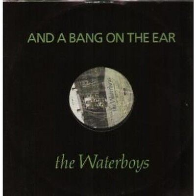 """WATERBOYS And A Bang On The Ear 12"""" VINYL UK Ensign 1989 2 Track B/W The Raggle"""
