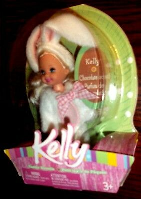 Barbie Kelly Kelly Doll 5 Inch White Chocolate Bunny Outfit 2004 New