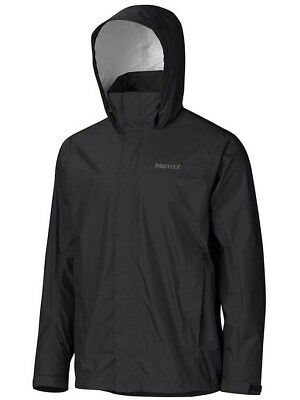 Marmot Precip NANO Mens Waterproof Rain Jacket - Black