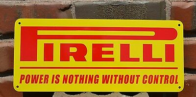 PIRELLI SIGN HIGH PERFORMANCE RACING TIRE SHOP STORE ADVERTISING LOGO SIGN 7day