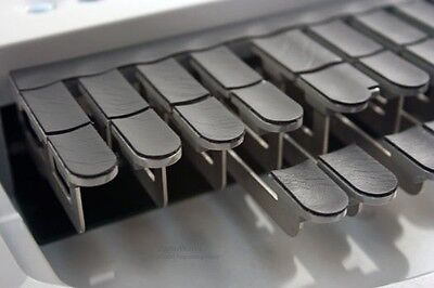 Steno Writer Black Synthetic Leather Keytop Covers Free Us Shipping