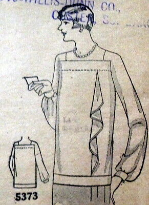RARE VTG 1920s BLOUSE Sewing Pattern BUST 38 OLD DEADSTOCK