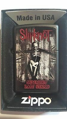 Zippo 2015 Slipknot Lighter  Summers Last Stand Limited Edition  New Sealed