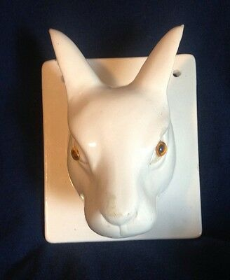 VTG Hare Wall Mount Hook  Gailstyn Sutton Towle Co. Rabbit French Country