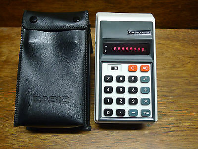 Casio Root-8S Rare Vintage Calculator Works Perfectly!
