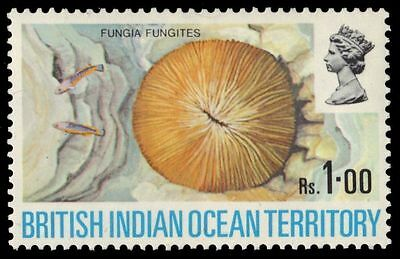 """BR INDIAN OCEAN 46 (SG43) - """"Fungia"""" Coral (pa55114)"""