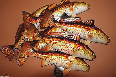 (18), Redfish, Seafood Restaurant Wall Decor, Saltwater Fish Wall Decor, #28