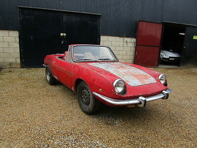 Fiat 850 Spider LHD 1969 Project Car