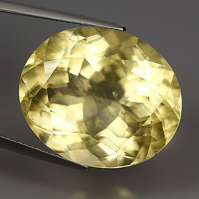 30.05 Ct Natural Ultra Rare Mexico YELLOW CALCITE Oval Gemstone @ See Video !!