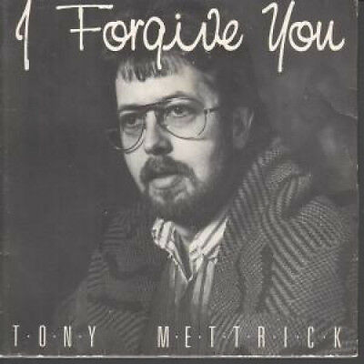 """TERRY METTRICK I Forgive You 7"""" VINYL With Kerry Minnear Ex-gentle Giant On Gu"""
