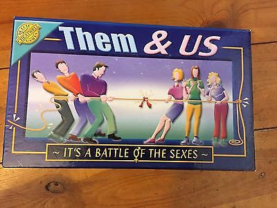 cheatwell - THEM & US board game `battle of the sexes`