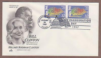 Bill Clinton Inauguration Day 1/20/97 , Year of the Rat - I Combine S/H