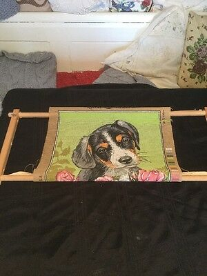 TAPESTRY FRAME - Hand Rotating - Lap Style - CROSS STITCH - EMBROIDERY  27 Inch
