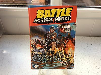 *battle Action Force ~ Annual 1985* H/b