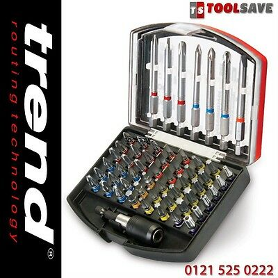 Trend Snappy SNP/SB3/SET 56 Piece Screwdriver Colour Ring Bit Set