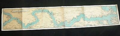 c.1885 Nile Expedition (Gordon Relief Expedition) Panoramic Map