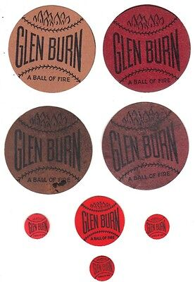 Complete Set Of Glen Burn Tags New And Used Large, Small, & Tiny