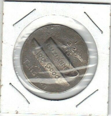 """A Tea/coffee Token From """" Luzianne 100% Good"""" Very Detailed Token"""