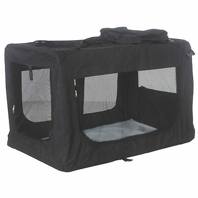 Foldable Pet Carrier Bag - S/M/L/XL - with free fleece blanket - Space saving!