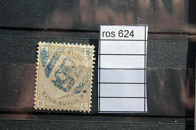 Stamps Old Great Britain  Uk 1881 Crown   4 Pence Used   (Ros624