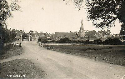 Kimbolton Photographic View,Posted Duplex Postmark.Great Card,See Scans