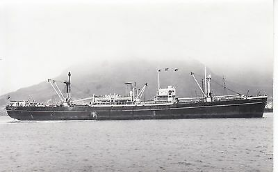 """Ship Photo: British Freighter Ship """"vancouver County""""  Built 1944"""