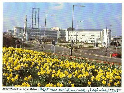 Abbey Wood, Ministry of Defence- Used Postcard