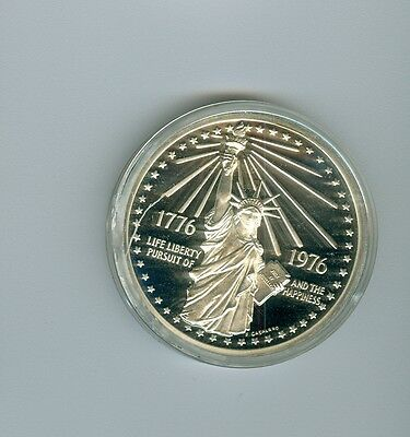 US Mint Bicentennial Medal 1776-1976 Statue of Liberty Silver Version