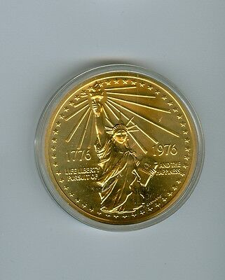 US Mint Bicentennial Medal 1776-1976 Statue of Liberty Bronze Version