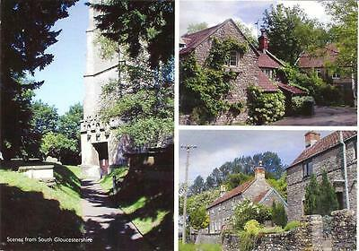 South Gloucestershire - Scenes from - Used Postcard
