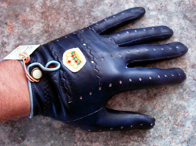VINTAGE 1970s Golf Glove Leather Handschuh NEU w/ Tag PITTARD'S made in England