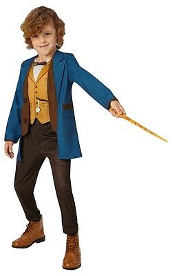 NEW Newt Scamander Fantasic Beasts Fancy Dress Costume World Book Day Outfit