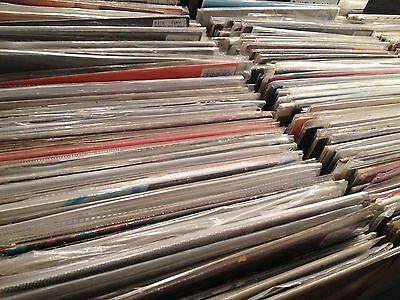 "JOB LOT OF 400 ROCK/POP/SOUL/DISCO/DANCE/REGGAE/PUNK 7""s-FREE UK P&P-BARGAIN!!!!"