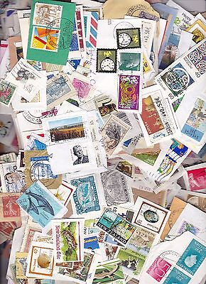 World Various Assortment 1000 On Paper Stamps