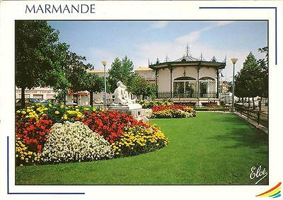 Marmande La Jolie- Posted Postcard