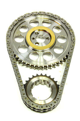 Rollmaster Double Roller Red Series Bbc Timing Chain Set Part Number Cs2000