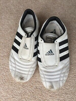 Adidas Martial Arts Shoes White Size 5