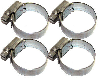 Pack of 4 Rotax Max / X30 Radiator Hose Jubilee Clips Best Price