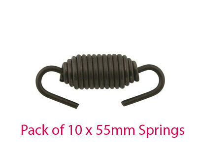 Pack of 10 x 55mm Swivel High Tension Exhaust Springs