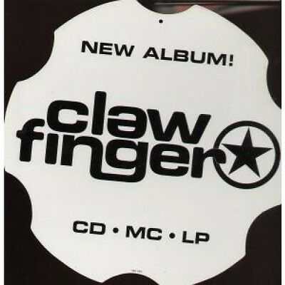 CLAWFINGER Clawfinger CARD UK Double Sided Shaped Display Card For Instore