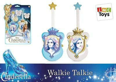 Disney Princess - Cinderella Walkie Talkie Set - 18471 - New