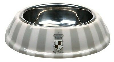 New Design Trixie - My Prince Dog Pet Bowl Combo - Melamine / Stainless Steel