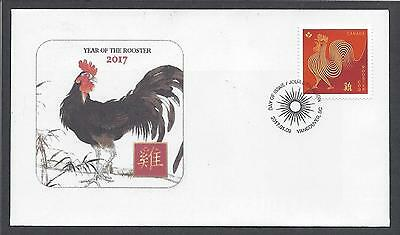 2017 Year of the Rooster Ltd FDC