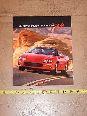 ORIGINAL 1998 CHEVROLET CAMARO AUTOMOBILE DEALER SALES BROCHURE (lot 273)